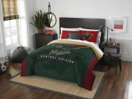 Minnesota Wild Draft Full/Queen Comforter Set