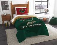 Minnesota Wild Draft Twin Comforter Set