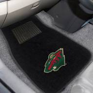 Minnesota Wild Embroidered Car Mats