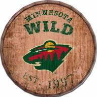 "Minnesota Wild Established Date 16"" Barrel Top"