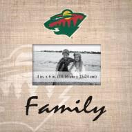 Minnesota Wild Family Picture Frame