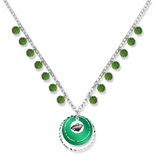 Minnesota Wild Game Day Necklace