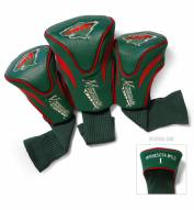 Minnesota Wild Golf Headcovers - 3 Pack
