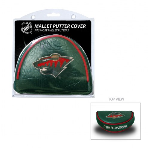 Minnesota Wild Golf Mallet Putter Cover