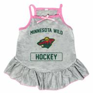 Minnesota Wild Gray Dog Dress