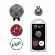 Minnesota Wild Hat Clip & Marker Set