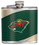 Minnesota Wild Hi-Def Stainless Steel Flask