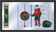 Minnesota Wild Hockey Rink Mirror