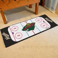Minnesota Wild Hockey Rink Runner Mat