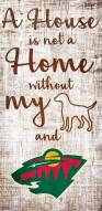 Minnesota Wild House is Not a Home Sign