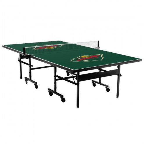 Minnesota Wild Indoor Ping Pong Table