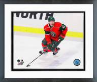 Minnesota Wild Jared Spurgeon Action Framed Photo