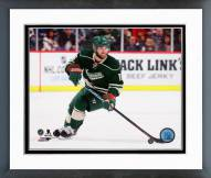 Minnesota Wild Jason Zucker Action Framed Photo