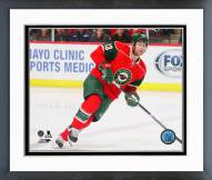 Minnesota Wild Jordan Leopold Action Framed Photo