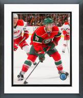 Minnesota Wild Jordan Schroeder Action Framed Photo