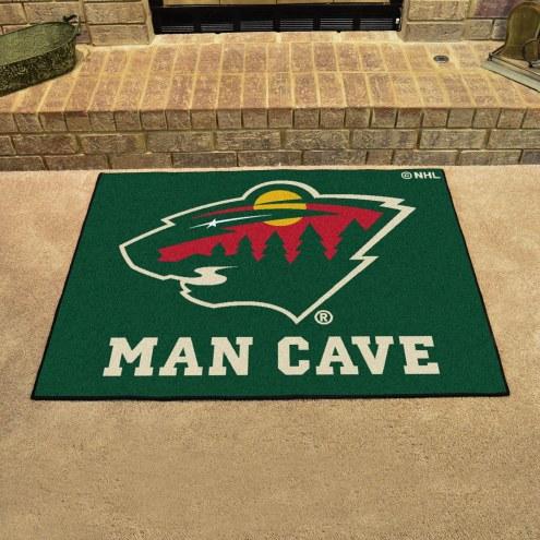 Minnesota Wild Man Cave All-Star Rug