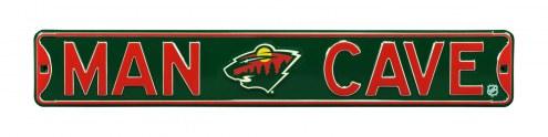 Minnesota Wild Man Cave Street Sign