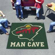 Minnesota Wild Man Cave Tailgate Mat