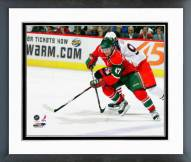 Minnesota Wild Marc-Andre Bergeron Framed Photo