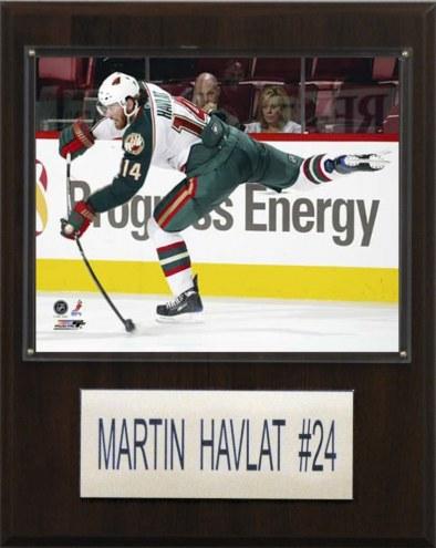 "Minnesota Wild Martin Havlat 12"" x 15"" Player Plaque"
