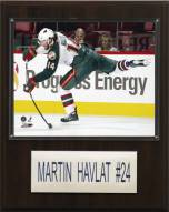 "Minnesota Wild Martin Havlat 12"" x 15"" Player Plaque"