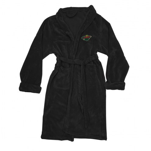 Minnesota Wild Men's Bathrobe