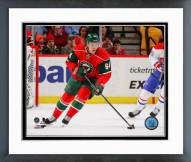Minnesota Wild Mikael Granlund Action Framed Photo