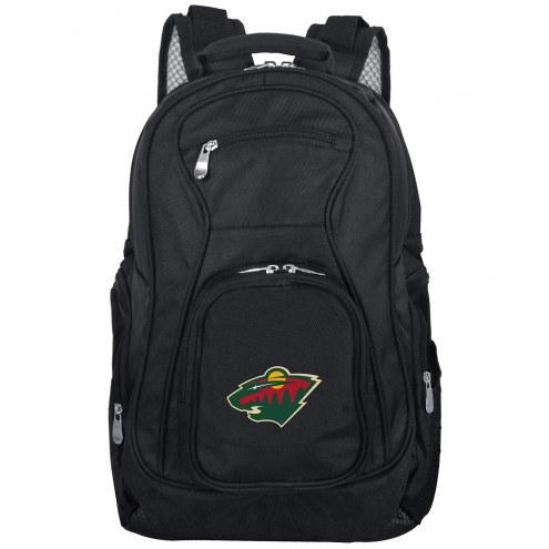 Minnesota Wild Laptop Travel Backpack