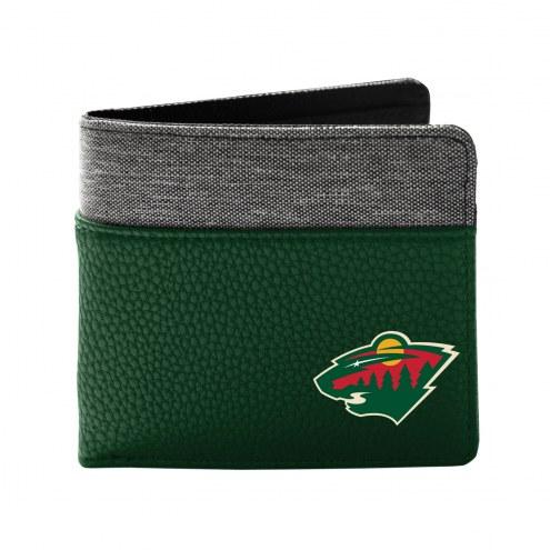 Minnesota Wild Pebble Bi-Fold Wallet