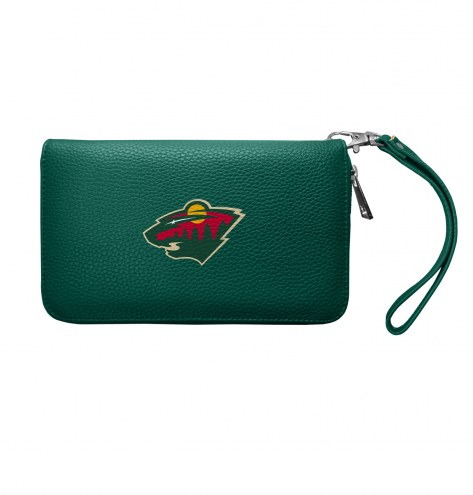Minnesota Wild Pebble Organizer Wallet