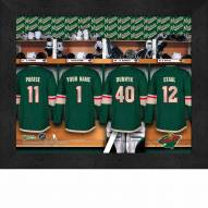 Minnesota Wild Personalized 11 x 14 Framed Photograph