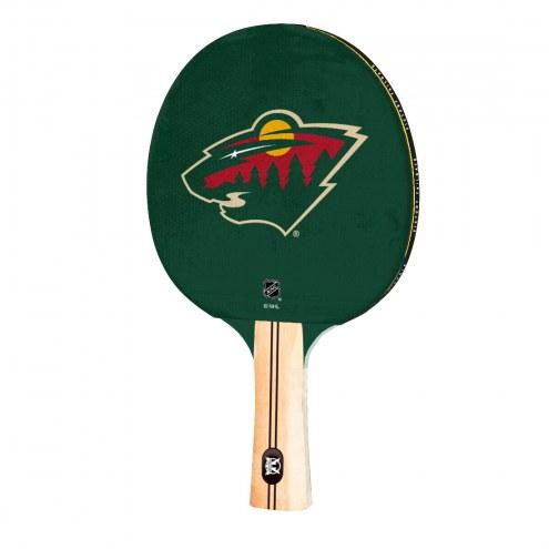 Minnesota Wild Ping Pong Paddle