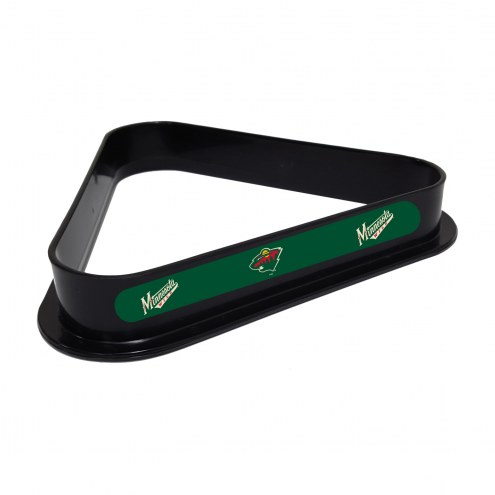 Minnesota Wild Pool 8 Ball Rack
