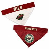 Minnesota Wild Reversible Dog Bandana