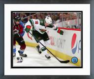 Minnesota Wild Ryan Carter 2014-15 Action Framed Photo