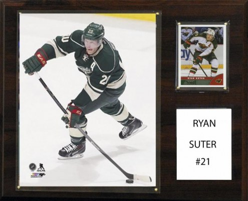 "Minnesota Wild Ryan Suter 12"" x 15"" Player Plaque"