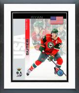 Minnesota Wild Ryan Suter USA Portrait Plus Framed Photo