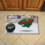 Minnesota Wild Scraper Door Mat