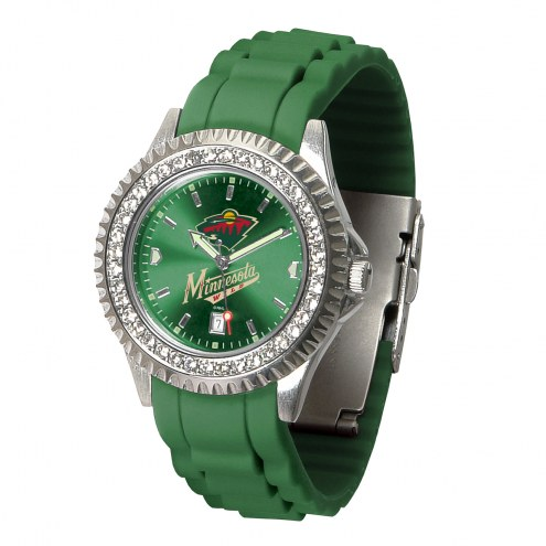 Minnesota Wild Sparkle Women's Watch