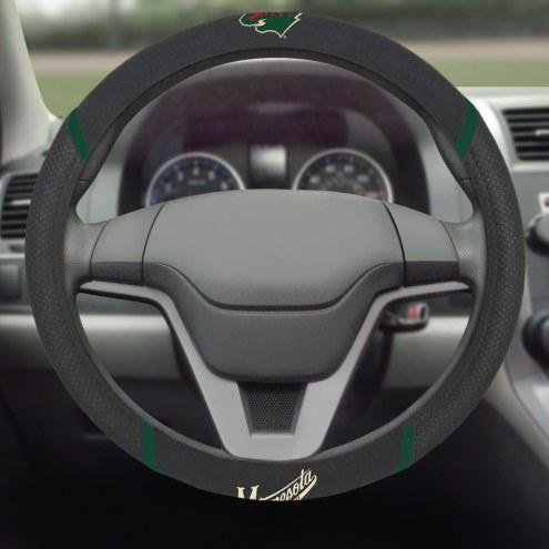 Minnesota Wild Steering Wheel Cover