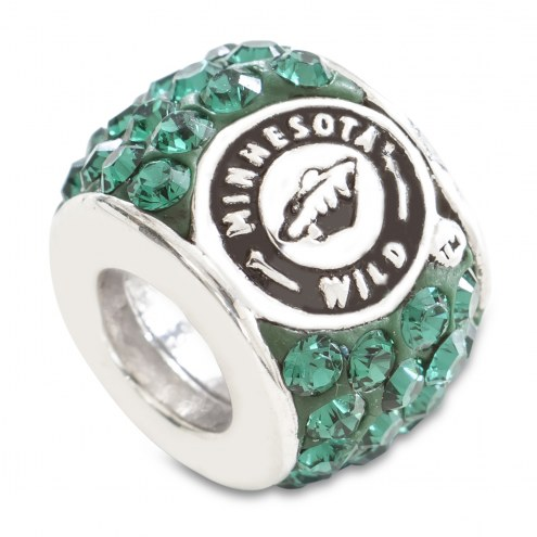 Minnesota Wild Sterling Silver Charm Bead