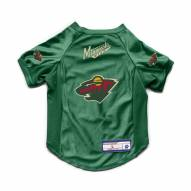 Minnesota Wild Stretch Dog Jersey