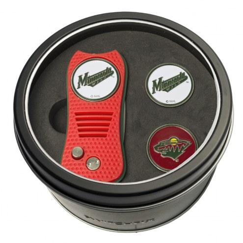 Minnesota Wild Switchfix Golf Divot Tool & Ball Markers