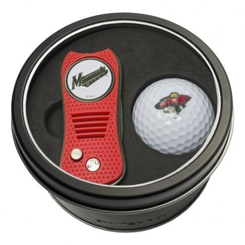 Minnesota Wild Switchfix Golf Divot Tool & Ball
