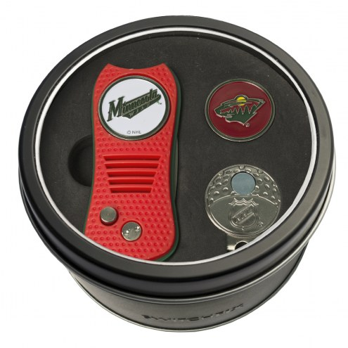 Minnesota Wild Switchfix Golf Divot Tool, Hat Clip, & Ball Marker