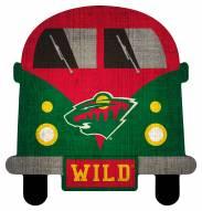 Minnesota Wild Team Bus Sign