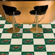 Minnesota Wild Team Carpet Tiles