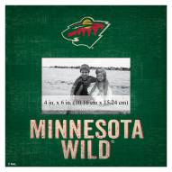 "Minnesota Wild Team Name 10"" x 10"" Picture Frame"