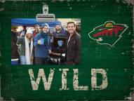 Minnesota Wild Team Name Clip Frame