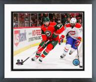 Minnesota Wild Thomas Vanek Action Framed Photo